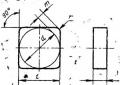 Квадратной формы - ГОСТ 19049-80