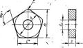 Пятигранной формы с отверстием - ГОСТ 19064-80