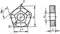 Пятигранной формы с отверстием и стружколомом - ГОСТ 19065-80