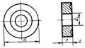 Круглой формы с отверстием и стружколомом - ГОСТ 19071-80
