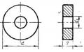 Круглой формы с отверстием - ГОСТ 19070-80