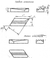 Параллелограммной формы и стружколомом - ГОСТ 19062-80