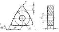 Шестигранной формы с отверстием - ГОСТ 19047-80