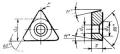 Трехгранной формы с задним углом - ГОСТ 19074-80