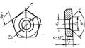 Пятигранной формы - ГОСТ 19080-80