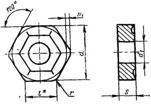 Пластина твердосплавная сменная - 11114-110412-ТТ7К12
