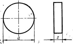 Пластина твердосплавная сменная - 12111-090300-ВК6