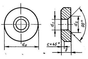 Пластина твердосплавная опорная сменная - 771-1904-ВК15