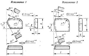 Пластина твердосплавная напаиваемая - 38031-ВК6
